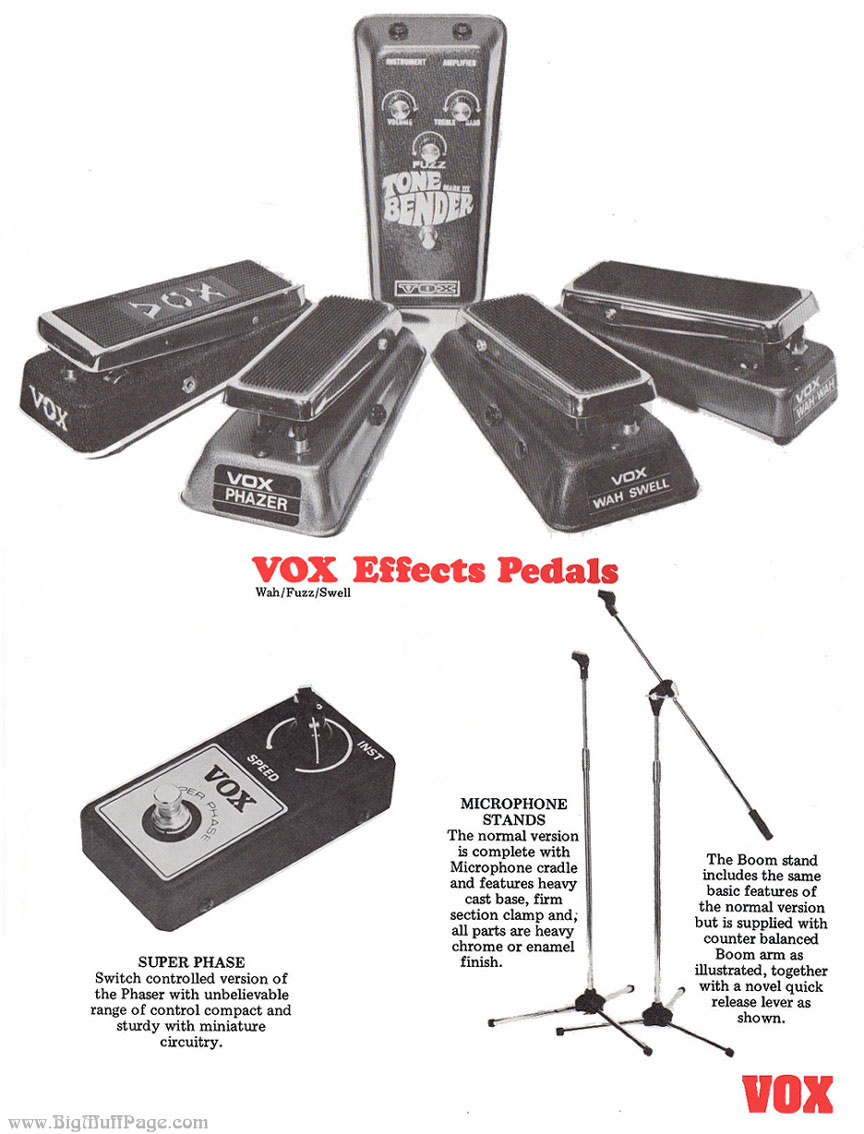Dating vox tone bender